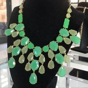 Stella & Dot Linden Green Statement Necklace ♥️
